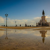 Original Portugal Lisbon City Center Reflection Photography By Messagez com