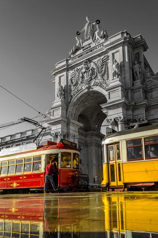 Original Magical Portugal Lisbon Tram Photography 2 By Messagez com