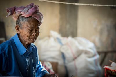 Old woman - Bali