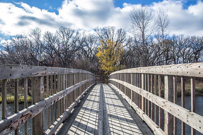 Bridge over Minnehaha Creek – Minnetonka, Minnesota