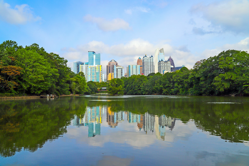 Piedmont Park, Atlanta, Georgia, USA