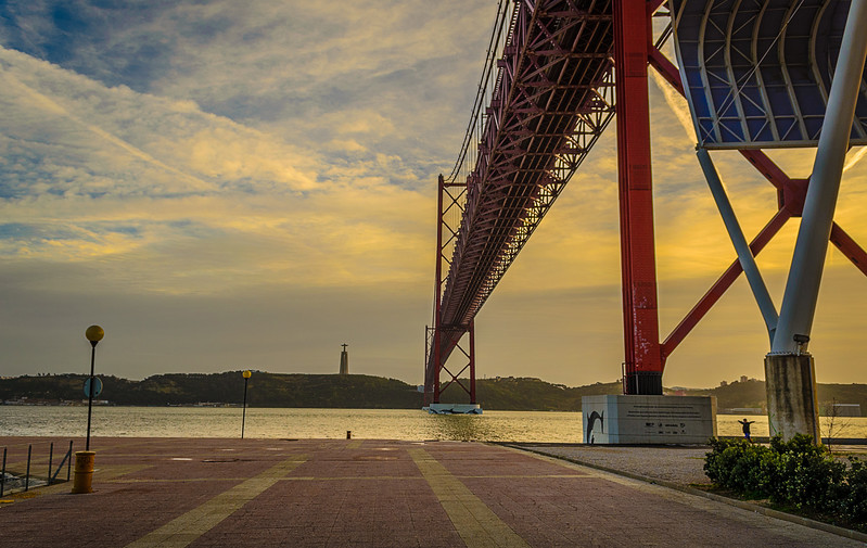 Under The Lisbon Bridge Art Photography By Messagez com