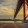 Under The Lisbon Bridge Art Photography By Messagez com