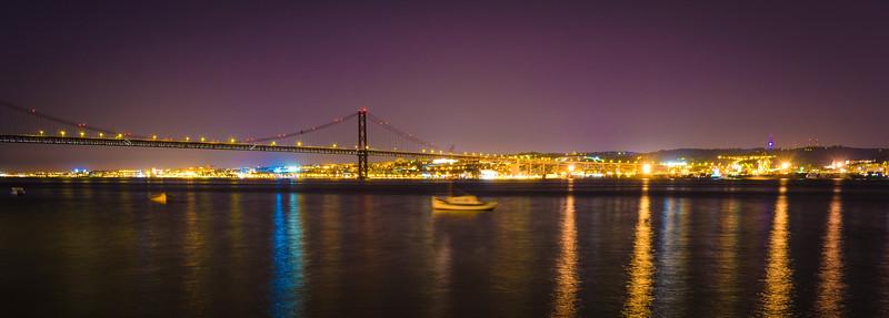 Lisbon 25th of April Bridge Photography By Messagez com