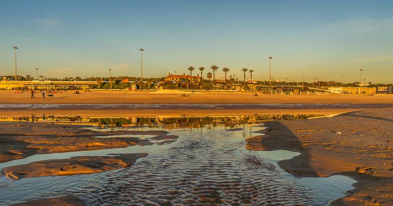Original Lisbon Coast Reflection Flow Photography 2  By Messagez com