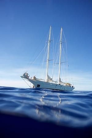 Sailing Yacht Argo, Mid Ocean.