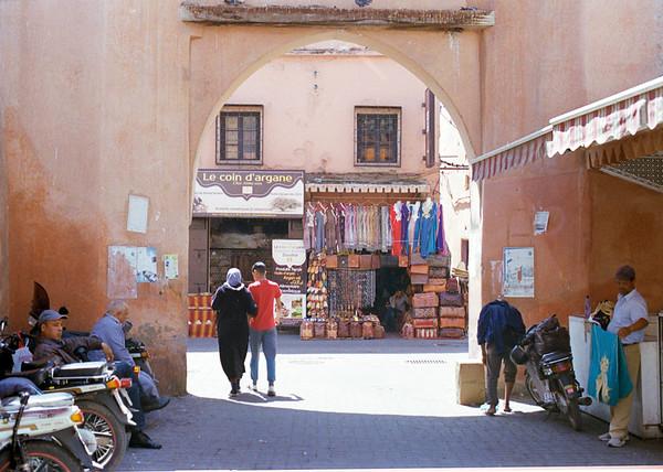 Taken on Analogue Film -  The Medina, Marrakesh