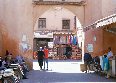 Taken on Analogue Film -  The Medina, Marrakesh