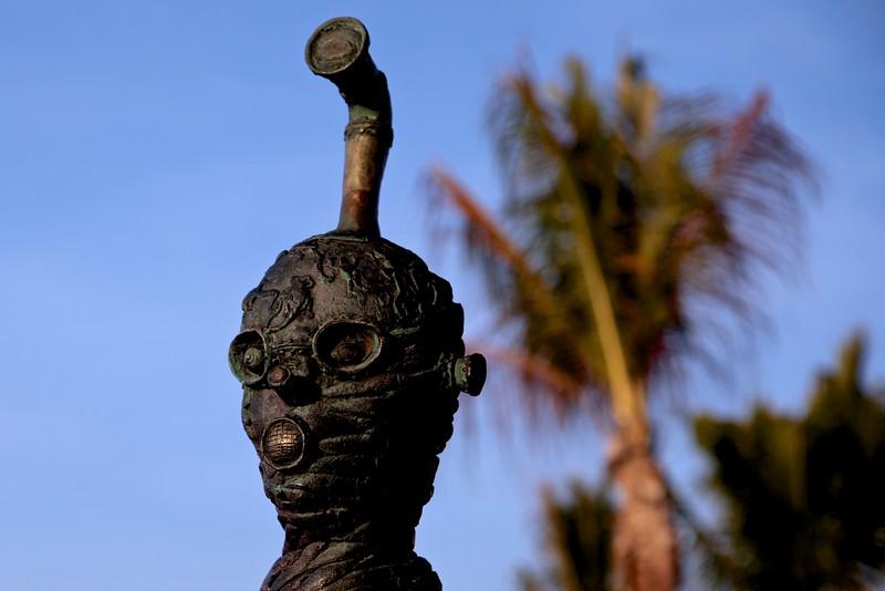 Art along the Melecon boardwalk, Puerto Vallarta