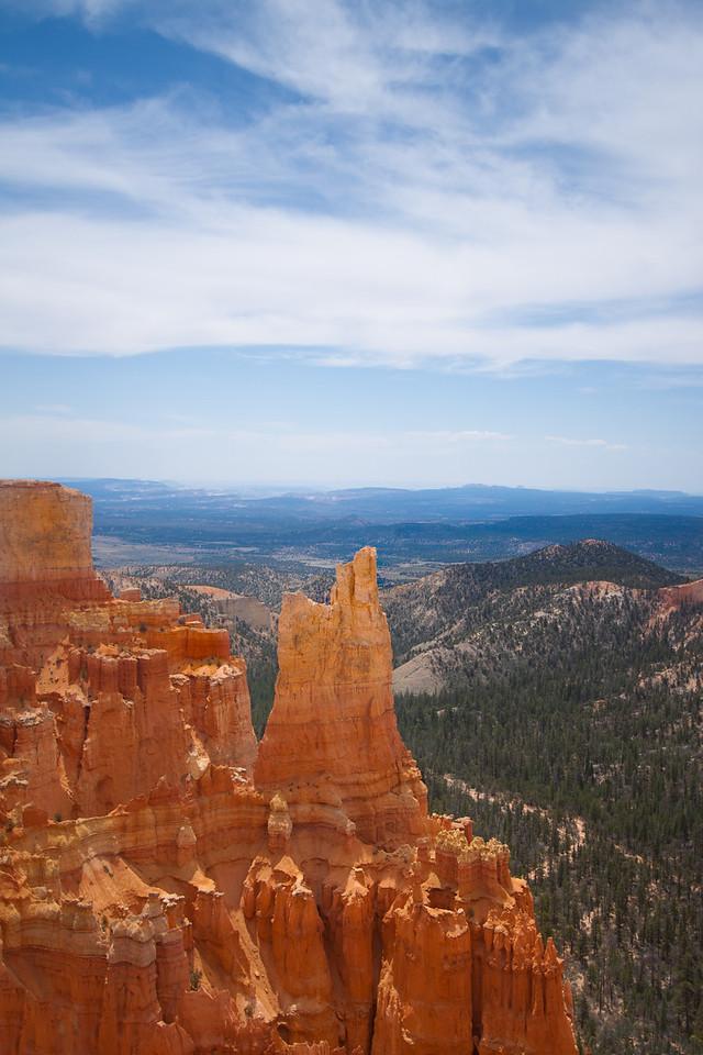 Peaks at Bryce Canyon National Park