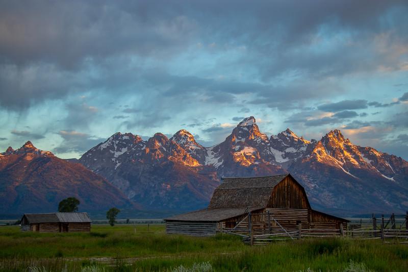 Morning Glow in Grand Teton National Park