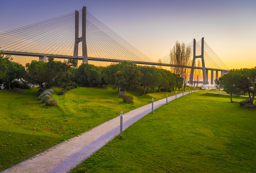 Portugal Lisbon Park of Nations Photography at Sunrise Messagez com