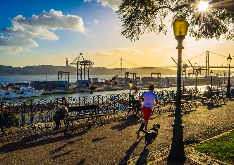 Lisbon Sunshine Viewpoint Photography By Messagez com