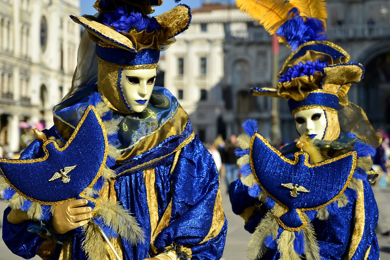 Masks in Venice