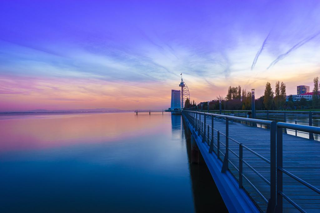 Magic Portugal Lisbon Sunset Reflection Photography 6 By Messagez com