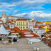 Original Panoramic Lisbon  Art Photography By Messagez com