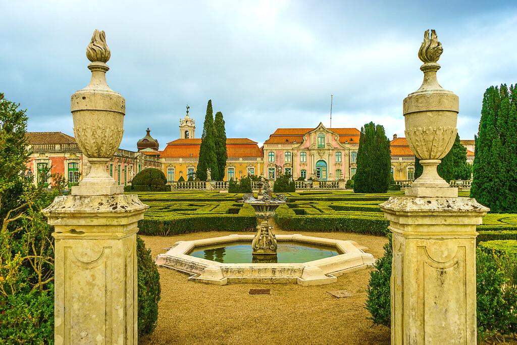 Portugal Queluz National Palace Art Photography 42 By Messagez com