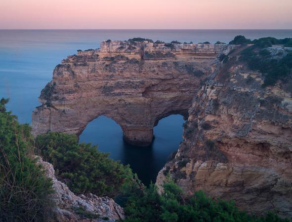 Original Heart of Algarve at Sunset By Messagez com