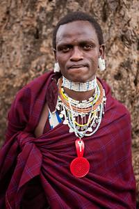 Maasai Portrait - Tanzania