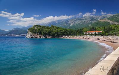 Bay near Montenegro