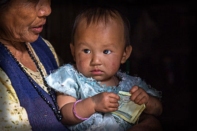 Child with Rupees