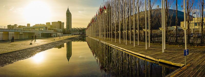 Original Lisbon Panorama Art Photography 2 By Messagez com