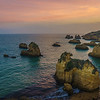 Portugal Algarve Golden Rock Boats at Sunset Photography By Messagez com