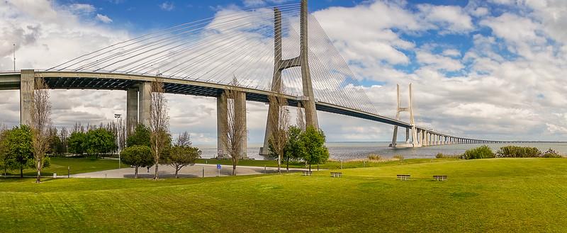 Panorama Portugal Lisbon Bridge Art Photography By Messagez com