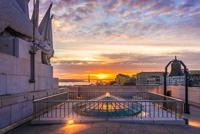 Original Top of The Lisbon Viewpoint at Sunset Photography By Messagez com