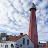 Scheveningen Lighthouse, 1875