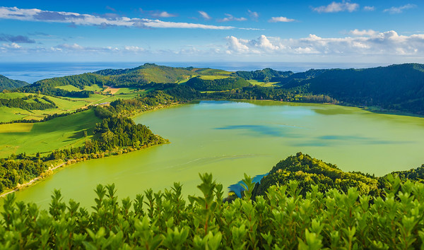 Azores Sao Miguel Island Furnas Lagoon Photography By Messagez com