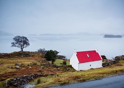 Remote Scottish Cabin