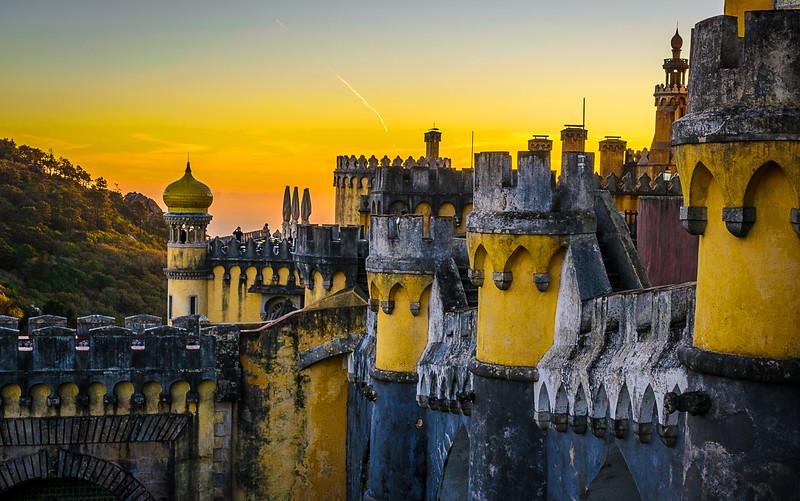 Sintra Pena Palace Photography 3 By Messagez com