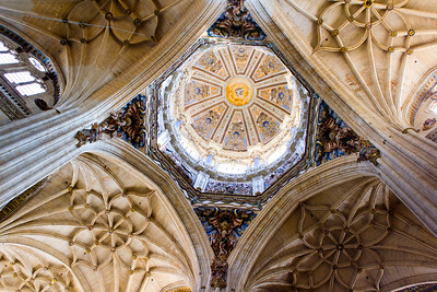Salamanca Cathedral Interior