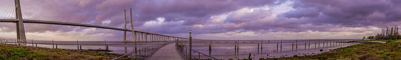 Panorama Portugal Lisbon Bridge Art Photography 3 By Messagez com