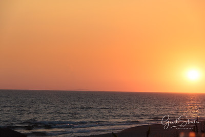 Sunset in Parga, Greece