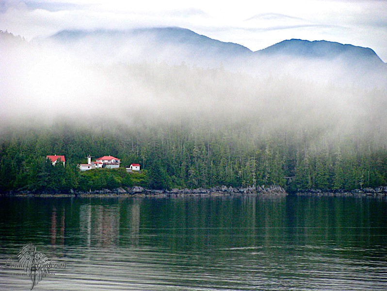 Alaska Living In The Clouds - Noon