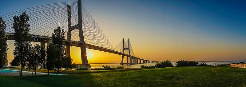 Original Lisbon Portugal Bridge Panorama Art Photography 34 By Messagez com