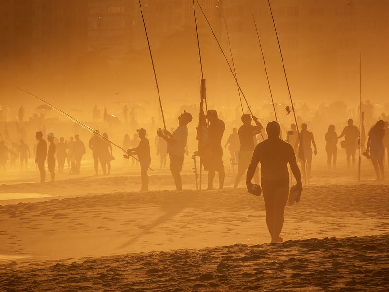 Dusk on Copacabana