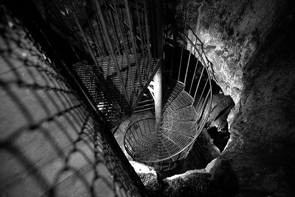 Stairway into the earth.