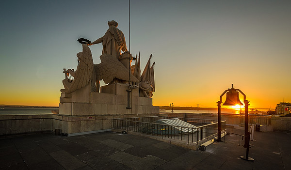 Lisbon Augusta Street Triumphal Arch Viewpoint Sunset Photography By Messagez com