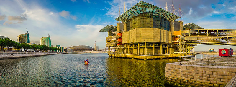 Original Lisbon Oceanarium Panorama Art Photography 4 By Messagez com