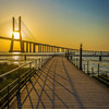 Original Lisbon Vasco da Gama Bridge Photography By Messagez com