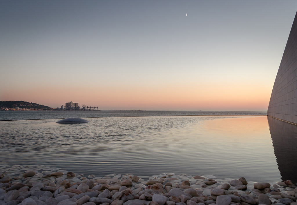 Photo of Tagus River in Lisbon