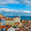 Original Panoramic Lisbon  Art Photography 3 By Messagez com