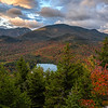 Sunrise from the summit of Mt. Jo in the High Peaks of the Adirondacks, Upstate New York