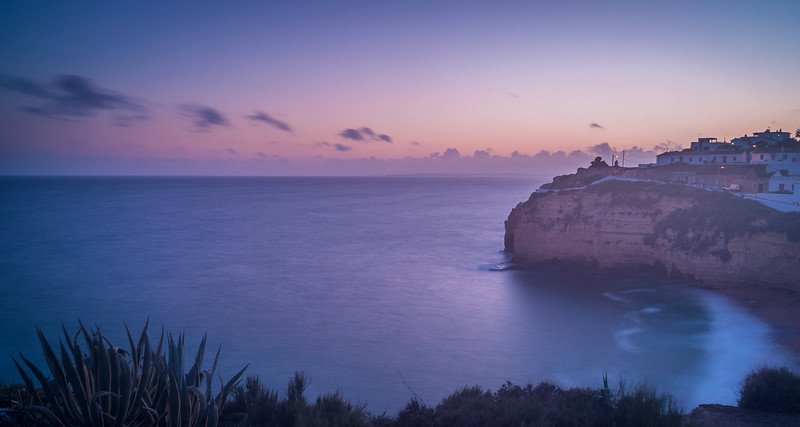 Algarve Carvoeiro Beach Photography 4 at Sunset Messagez com