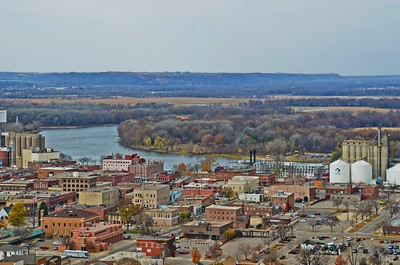 The city of Red Wing, Minnesota