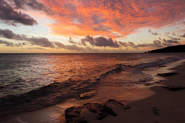 A Brilliant Sunset on Lizard Island