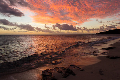 A Brilliant Sunset on Lizard Island
